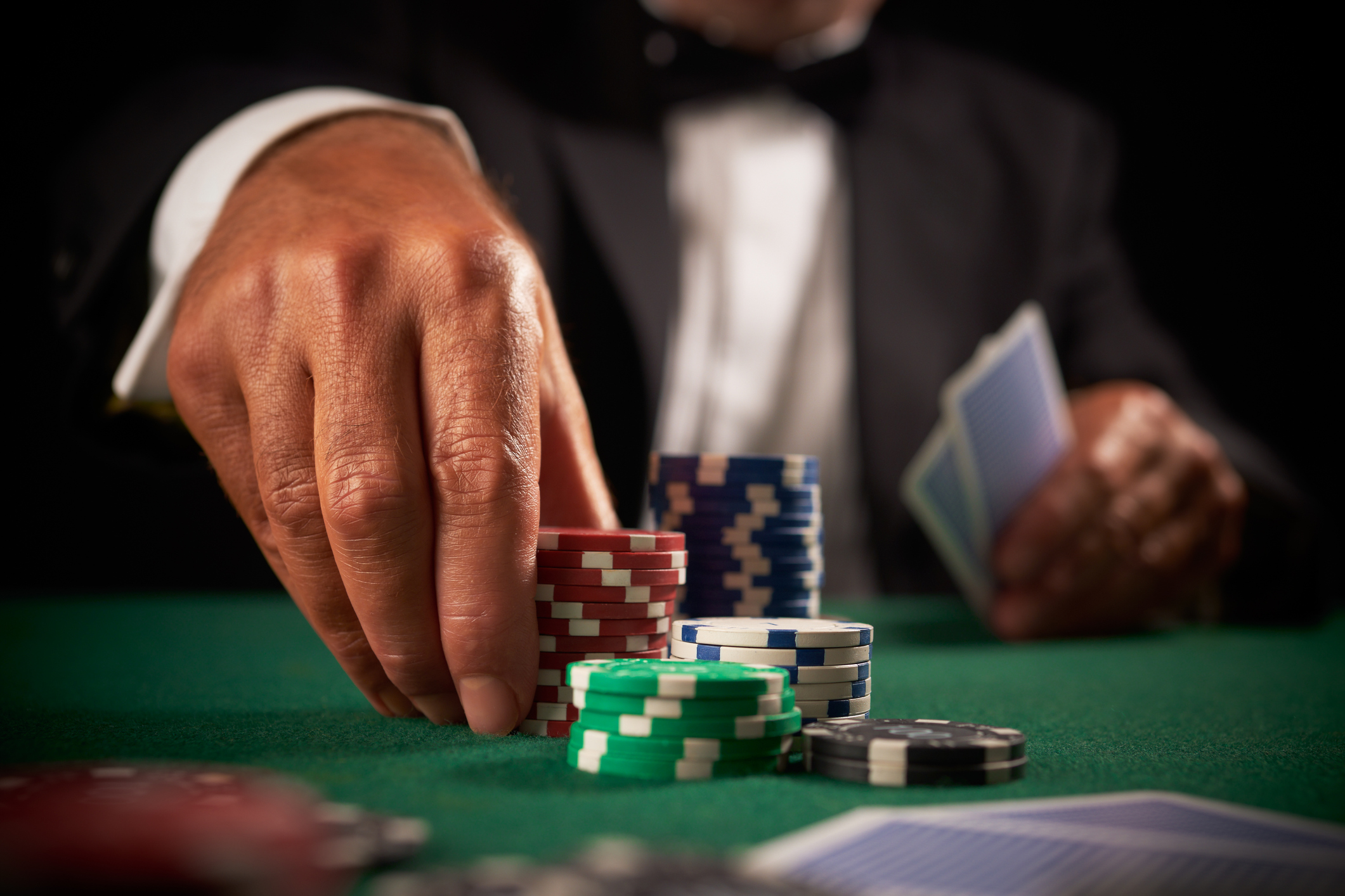 professionnels en poker